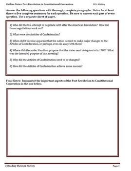 The U.S. Constitution Read HighClass Method