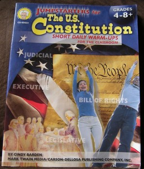 The U.S. Constitution Short Daily Warm-Ups for the classroom