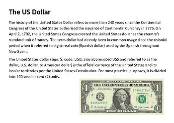 The US Dollar Handout