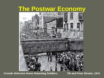 The US Economy after World War II powerpoint