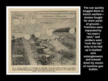 The U.S. Enters World War I