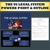 The US Legal System power point and outline