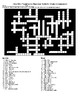 The US President: 3 Crosswords and a Word Search with KEYS