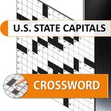 The U.S. State Capitals Crossword Puzzle