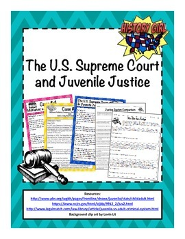 The U.S. Supreme Court & Juvenile Justice