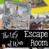 The US at War Escape Room for the US History STAAR Test