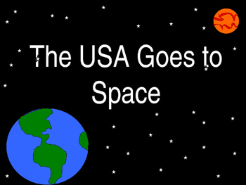 The USA Goes to Space - PowerPoint