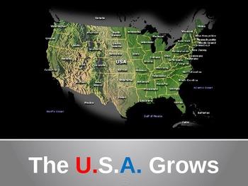 The USA Grows