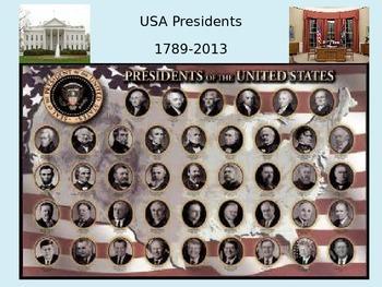The USA presidents