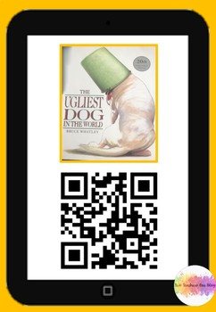 The Ugliest Dog in the World QR code comprehension pack