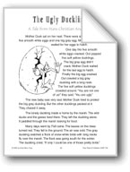 The Ugly Duckling (A Tale from Hans Christian Andersen)