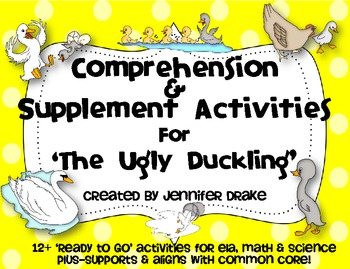The Ugly Duckling Comprehension & Supplemental Activities