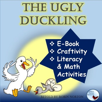 The Ugly Duckling Fable Literature and Math Activities Great for ESL Special Ed