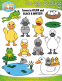 FREE The Ugly Duckling Fairy Tale Clip Art Set — Over 40 G