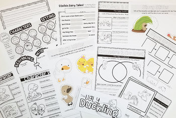 The Ugly Duckling Literacy Unit
