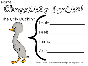 The Ugly Duckling Literature Focus Unit
