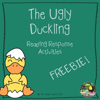 The Ugly Duckling - Reading response activities FREEBIE!