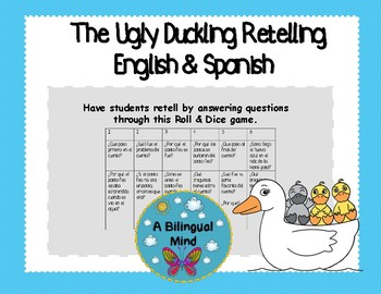 The Ugly Duckling Retell Spanish & English