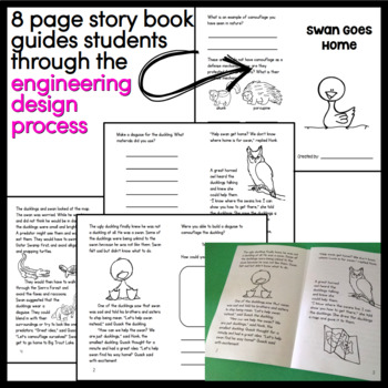 The Ugly Duckling STEM Activity - Swan Goes Home