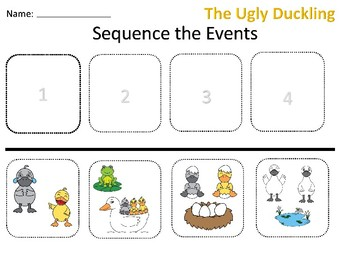 The Ugly Duckling Sequence Events