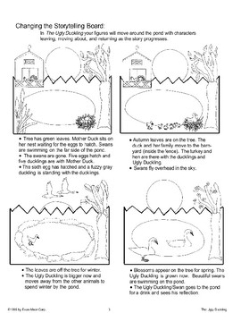 The Ugly Duckling Storytelling Bulletin Board