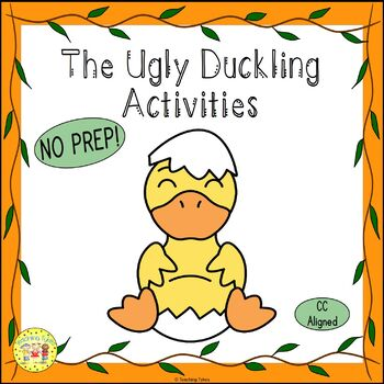 The Ugly Duckling Fairy Tales Worksheets Activities Games Printables and More