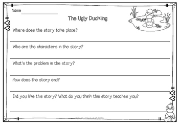 The Ugly Duckling Unit of Work (EYFS/KS1)