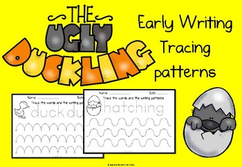 The Ugly Duckling early writing patterns