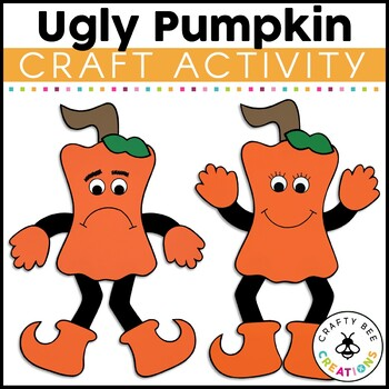 The Ugly Pumpkin Cut and Paste