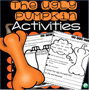 The Ugly Pumpkin - Word Work, Comprehension and Research Activities
