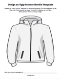 Science + Art: Ugly Science Hoodie Editable Template {Ugly