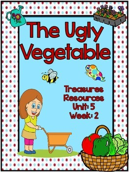The Ugly Vegetable Focus Wall Treasures Common Core Alligned