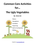 The Ugly Vegetables Common Core Activities