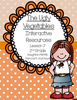 The Ugly Vegetables Interactive Resources (Aligned with Journeys 2nd Grade)