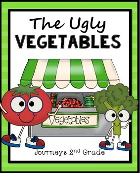 The Ugly Vegetables for Journeys 2nd Grade Printables only