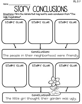 The Ugly Vegetables (Journeys 2nd Grade - Supplemental Materials)