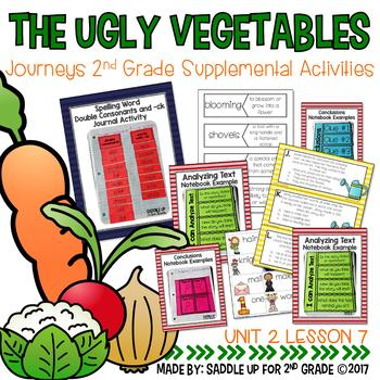 The Ugly Vegetables Journeys 2nd Grade Supplemental Activities