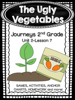 The Ugly Vegetables Journeys 2nd Grade (Unit 2 Lesson 7) Supplemental Activities