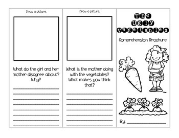 The Ugly Vegetables Journey's Activities - Second Grade Lesson 7