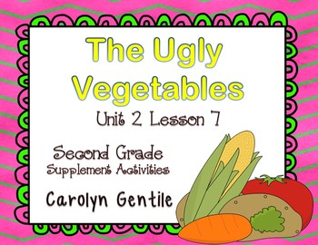 The Ugly Vegetables Journeys Unit 2 Lesson 7 2nd Grade Supplement Materials