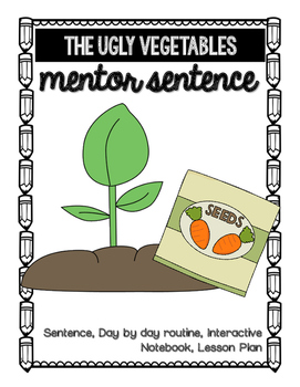 The Ugly Vegetables Mentor Sentence