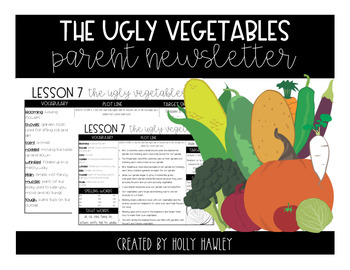 The Ugly Vegetables Newsletter