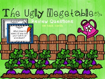 The Ugly Vegetables Task Cards for Houghton Mifflin Journeys