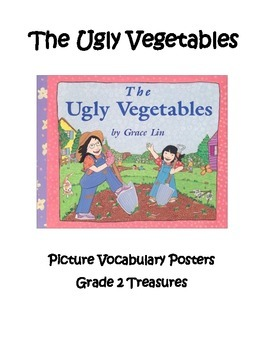 The Ugly Vegetables Vocabulary Posters Grade 2 Treasures