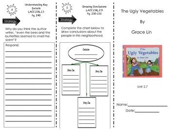 The Ugly Vegetables by Grace Lin - Journeys Common Core