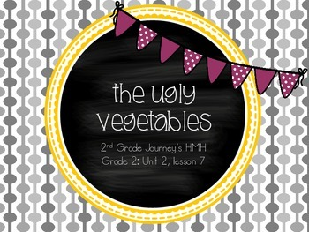 The Ugly Vegetables supplemental activities - Journey's 2nd Gr. Unit 2 Lesson 7