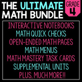 The Ultimate 4th Grade Math Bundle