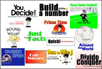 The Ultimate 5th Grade Math Bundle for SMART Boards(5.NF and 5.NBT)