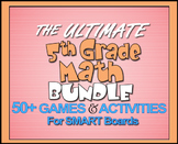 The Ultimate 5th Grade Math Bundle for SMART Boards(5.NF a