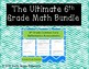 The Ultimate 6th Grade Math Bundle